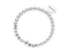 silver letter bracelet marry me silber letter namensarmband heiratsantrag