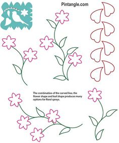 Crazy Quilt Templates set 2 ebook page - order from Pintangle.com