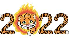 Chinese New Year Images, Happy Chinese New Year, Happy Year, Tiger Wallpaper, Year Of The Tiger, Cute Tigers, Crafts To Do, Painting & Drawing, Art For Kids