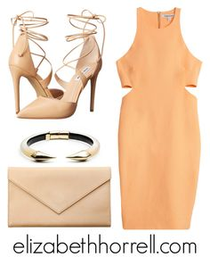 """""""LIZ"""" by elizabethhorrell ❤ liked on Polyvore featuring Alexis Bittar, Steve Madden, Carré Royal and Elizabeth and James"""