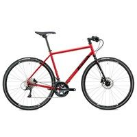 Genesis Croix De Fer 10 Flat Bar Bike in Red, a do-it-all bike suitable for everything from touring to commuting, with the a flat bar for comfort and ride confidence Photo Proof, Cycling Gear, Sport Bikes, Touring, Im Not Perfect, Bicycle, High Standards, Flats, Bar