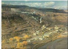 Mill in Uravan, Colorado.