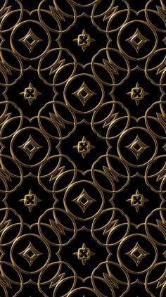 Find images and videos about black, wallpaper and gold on We Heart It - the app to get lost in what you love. S8 Wallpaper, Black Wallpaper Iphone, Wallpaper Backgrounds, Iphone Wallpapers, Fractal Art, Fractals, Gold And Silver Wallpaper, Expensive Wallpaper, Backgrounds Girly