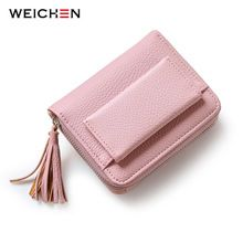 WEICHEN Pink Short Tassel Women's Wallets, Multifunction Lady Mini Purse Card Coin Purse Brand  Hasp & Zipper 3 Fold Wallet     Tag a friend who would love this!     FREE Shipping Worldwide     Buy one here---> http://fatekey.com/weichen-pink-short-tassel-womens-wallets-multifunction-lady-mini-purse-card-coin-purse-brand-hasp-zipper-3-fold-wallet/    #handbags #bags #wallet #designerbag #clutches #tote #bag