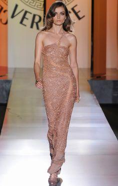 Versace Fall 2012 Evening Dress