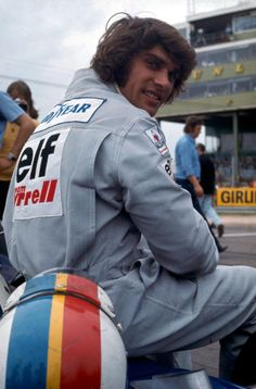 François Cevert at the British Grand Prix 1973