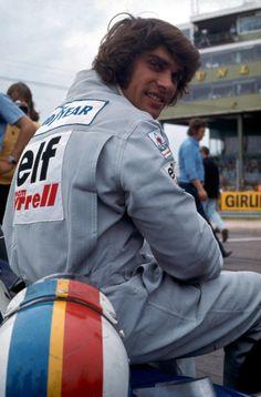 François Cevert at the British Grand Prix 1973