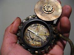 Steampunk pocket watch by Don Pezzano