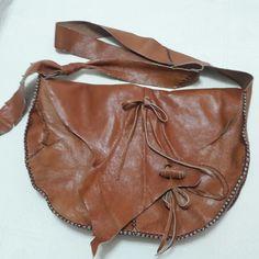 Handmade leatherbag