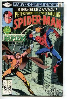 Spectacular Spider-Man Annual 2 Marvel 1979 VF NM Bob Burdiansky