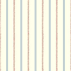 Baseball stitch York Inspired by Color Kids Baseball Stitching Stripe Wallpaper Baseball Wallpaper, Boys Wallpaper, Nursery Wallpaper, Pattern Wallpaper, Baseball Bathroom, Baseball Wall Decor, Striped Wallpaper Red, Wallpaper Stores, Wallpaper Warehouse