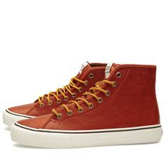 7027076f5b Vans California Sk8-Hi Binding CA Leather Henna The Sk8-Hi is one of