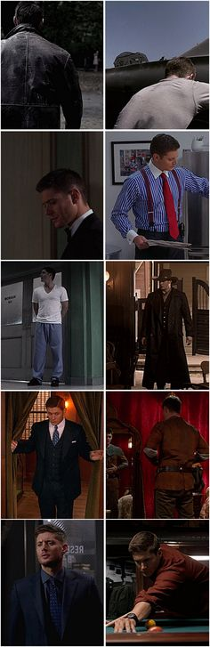 Dean - favorite outfits [gifset]