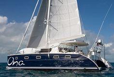 Ona Sailing Catamaran - an Antares Catamaran...our next home!?!