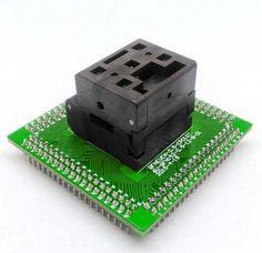 QFN56 IC test socket adapter 8*8 0.5mm QFN56 programming socket adapter