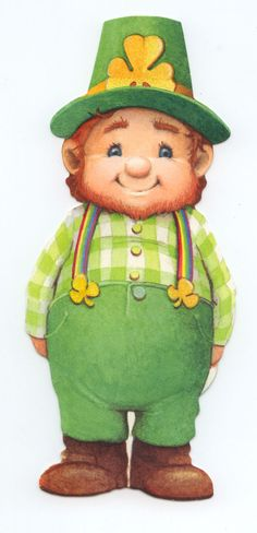 Leprechaun...i actually own this little guy so cute
