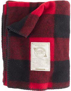 Woolrich John Rich & Bros.® buffalo check blanket