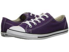 Converse Chuck Taylor® All Star® Dainty Seasonal Ox Elderberry - Zappos.com Free Shipping BOTH Ways