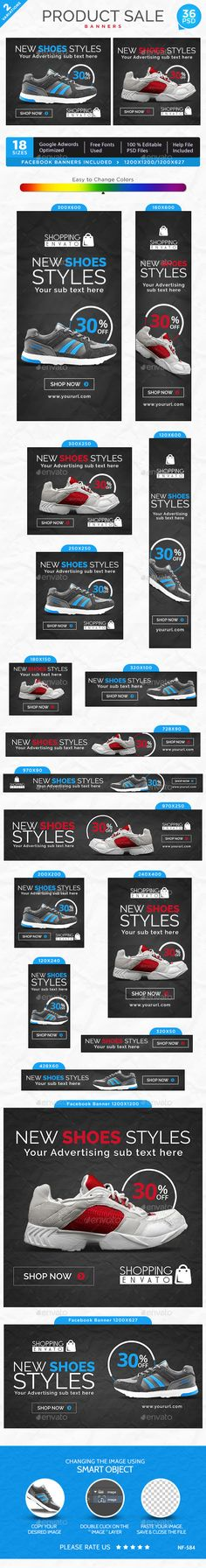 Product Sale Banners Template #design Download: http://graphicriver.net/item/product-sale-banners/12594394?ref=ksioks
