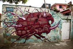 Ovbal Y Sego, Mexico City - unurth | street art