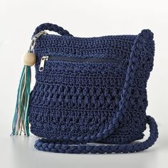 Croft and Barrow Crochet Cross-Body Handbag