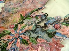 an extreme example of the lace you can create if you try...
