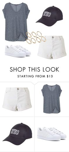 """""""Untitled #356"""" by charlotte-down on Polyvore featuring Miss Selfridge, Violeta by Mango, New Look, adidas and Pieces"""