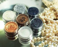 Pigmentos e glitters da quem disse berenice