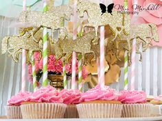 Carousel themed 1st birthday party!