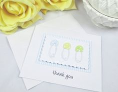 Thank You Cards  Baby Cards  Baby Shower by ImagineandInspire, $18.00