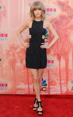 Best dressed - Taylor Swift at the iHeartRadio Music Awards