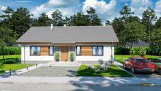 Одноэтажный дом с тремя спальнями Home Fashion, House Design, Outdoor Structures, Cabin, Mansions, House Styles, Outdoor Decor, Home Decor, Projects