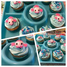 """17 mentions J'aime, 2 commentaires - Candace O'Neal Trippe (@aceoneal1) sur Instagram: """"Blobfish cupcakes for Lola"""""""