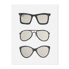 yeah! these are great too.. sunglass print from sugar paper