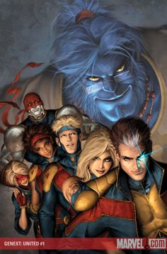 GENEXT: UNITED #1 (of 5) Written by CHRIS CLAREMONT Penciled by JONBOY MEYERS Cover by ALEX GARNER