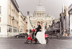 Photographer Artur Jakutsevich. Honeymoon in Rome: from the USA with love.