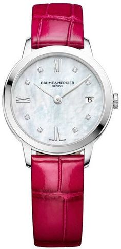 @baumeetmercier Watch Classima Ladies Pre-Order #add-content #bezel-fixed #bracelet-strap-alligator #brand-baume-et-mercier #case-material-steel #case-width-31mm #date-yes #delivery-timescale-call-us #dial-colour-white #gender-ladies #limited-code #luxury #movement-quartz-battery #new-product-yes #official-stockist-for-baume-et-mercier-watches #packaging-baume-et-mercier-watch-packaging #pre-order #pre-order-date-30-04-2017 #preorder-april #sihh-geneve-2017 #style-dress #subcat-classima…
