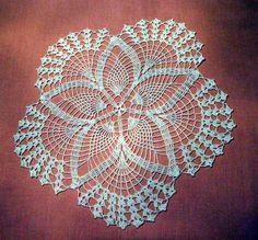 crochet doilies free patterns - Google Search