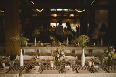 Burlap Bunting And Homemade Apple Pies - A Rustic Canadian Farm Wedding