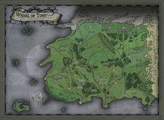 Zaman Çarkı haritası