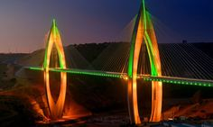 Philips Lighting illuminated the longest cable-stayed bridge in Africa, Morocco's Mohammed VI Bridge, with colorful LEDs for its inauguration earlier…