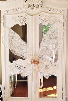 wow butterfly door!