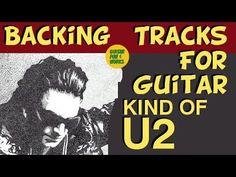 Backing Tracks For Guitar Backing Tracks, U2, Cool Guitar, Cool Words