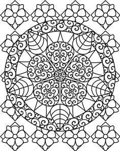 Abstract Art Coloring Pages | Free Printable Abstract Coloring Pages For Kids