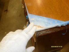 How To Fix Chewed Particle Board Corners Slideshow 2010 07 12 You