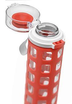 Ello Syndicate Bpa-free Glass Water Bottle With Flip Lid, Coral, 20 Oz., http://www.amazon.ca/dp/B00XFLLBAE/ref=cm_sw_r_pi_awdl_qhSLvb1A37AR2