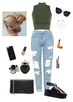 """""""#52"""" by stydialover on Polyvore featuring Topshop, WearAll, Alexander Wang, Marc Jacobs, Quay, Aéropostale, Olivia Burton, MAC Cosmetics, OPI and Bebe"""