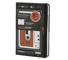 cassette moleskine