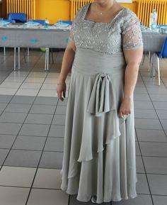 robe longue princesse bal soirée mariage mère mariée cocktail grande taille 50