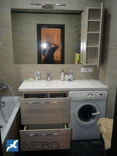 Мебель для ванной комнаты: фото и дизайн в Минске